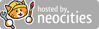 Hosted by Neocities banner